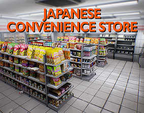 3D model Japanese Convenience Store Pack - Over 400 1
