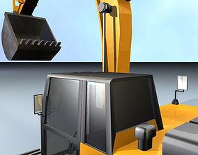 3D model Excavator pala