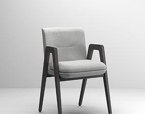 3D asset Minotti Lance chair