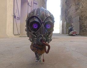 robot Head 3D PBR