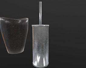 3D asset Restroom set with 2 texture packs