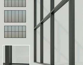 Panoramic glazing Stained glass 3 3D asset