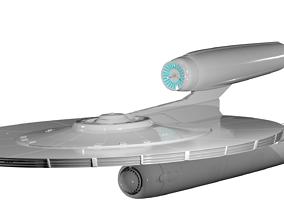 Star Trek USS Kelvin 3D Model NCC-0514 2009