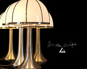 Table Lamp Fungo small by Gabriella Crespi 3D asset