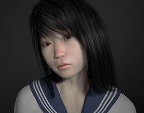 3D Saki for Genesis 2 Female