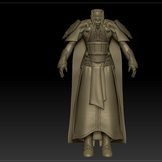 Emperor Valkorion WIP 01
