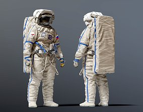 3D ORLAN RUSSIAN SPACE SUIT