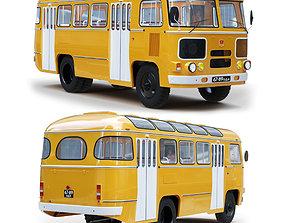passenger 3D model Bus PAZ 672