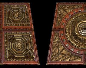 3D model Wood Tiles - Two Versions