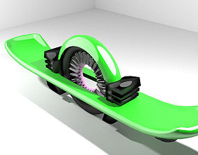 Hoverboard - Type 2 3D