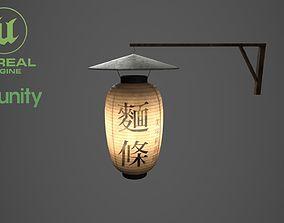 3D model Street sign Chinese light