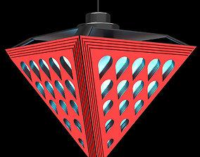 Lamp high-tech 3D asset
