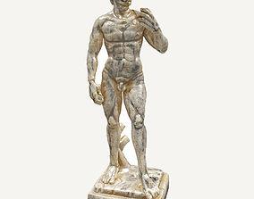 3D model David Statue