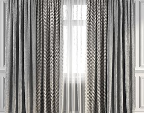 Curtain Set 93 3D model