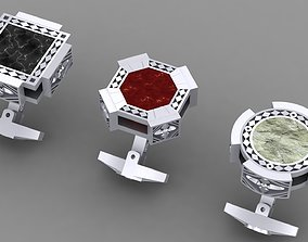 3D printable model original Cufflinks with different