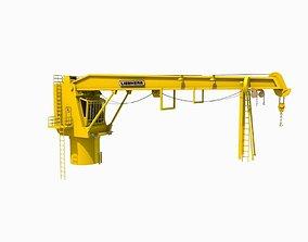 3D asset Shipping Crane