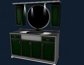 3D model Bathroom sink 1
