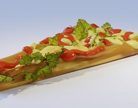 3D model tortilla