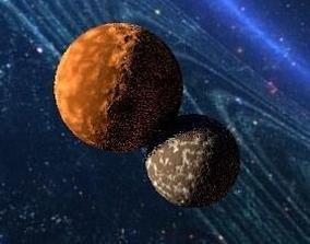 3D planet crush