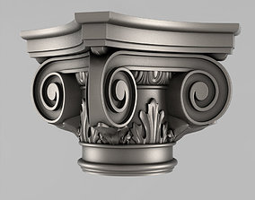 Capitals 3D printable model cornce