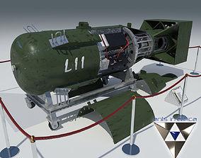 Atomic bomb Little Boy 3D model