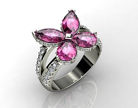 3D print model Classic Diamond Jewelry