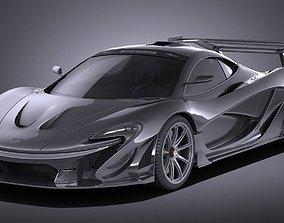3D McLaren P1 LM 2018