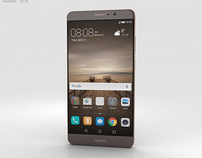 3D Huawei Mate 9 Mocha Brown
