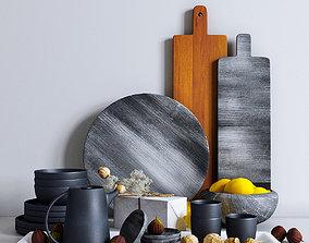3D model Decorative Set For The Kitchen 4
