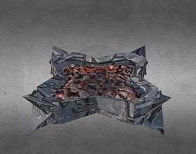 Fireplace 3D asset