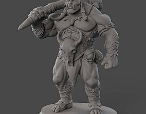 3D printable model Orc Miniature
