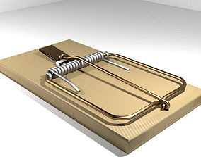 3D Animal Trapping - Mousetrap