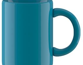 3D model Coffee Mug dark blue