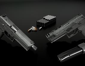 3D model Sig Sauer P320 Full Size Modular 9MM Handgun