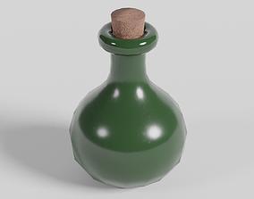Small Bottle 3D asset