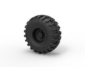 Diecast Offroad wheel 7 3D printable model