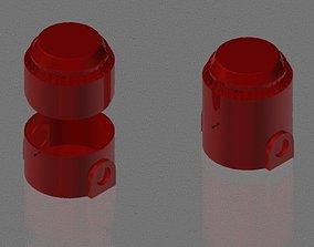 24VDC Siren 3D model