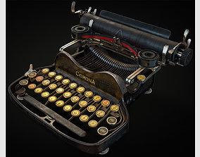 Corona No3 Typewriter 3D asset