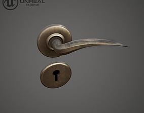 3D asset low-poly Door Handle