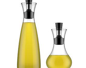 3D Oil and vinegar carafe