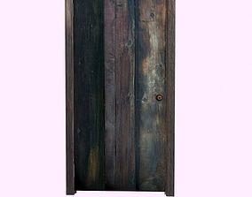 3D model Old door1