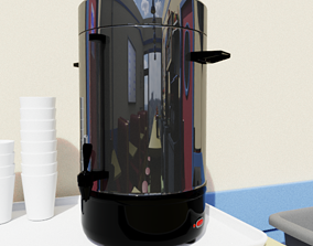 Commercial Coffee Maker 3D