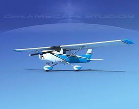 Cessna 150 Aerobat V09 3D model