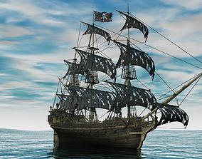 3D model De Vliegende Hollander Ship