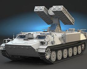 3D 9K35 Strela-10 High Poly