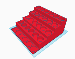 Basic Paint Rack - Small 3D print model