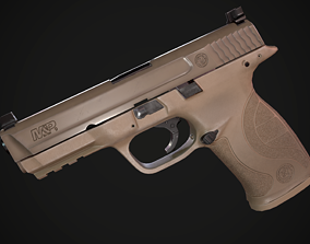 MP9 Smith Wesson 3D model