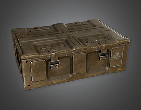 3D model Military Supplies Crate 05 - MLT - PBR Game Ready