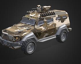 Otokar Cobra Armored Military Truck 3D asset