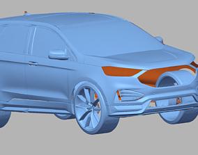 2020FORD EDGE ST OPTIMIZED 3D Scan Data 3D model 3D print